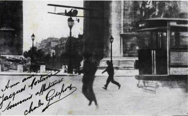 Le 7 août 1919 dans le ciel parisien Godefroy3